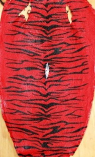 Red-Black Tiger Stingray